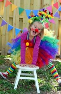 Cómo hacer un disfraz de payasita para niñas