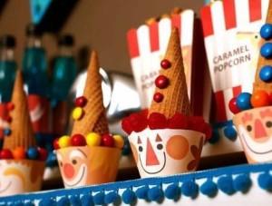 Los payasos y las fiestas de cumpleaños infantiles.
