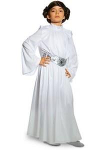 El mejor disfraz para niñas de la princesa Leia de Star Wars