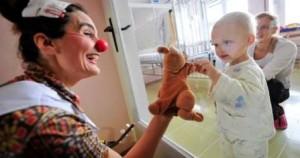 Payasos para hospitales con niños enfermos