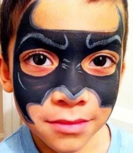 Maquillaje de superhéroe