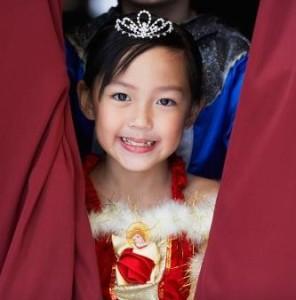 Disfraz de princesa casero para niñas