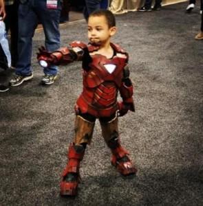 Disfraz de Iron Man casero para niños