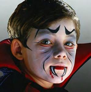 Maquillaje infantil para halloween