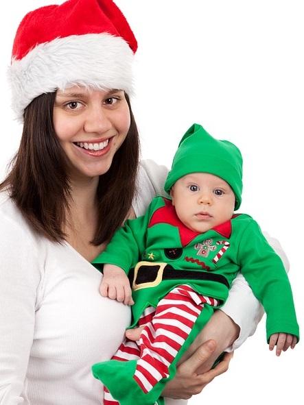 Disfraces navideños elegantes para niños