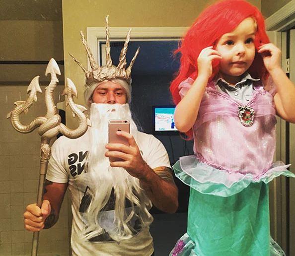 Tritón y Ariel
